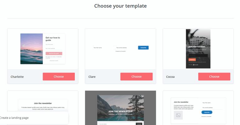 ConvertKit Forms TemplatesConvertKit vs Mailchimp