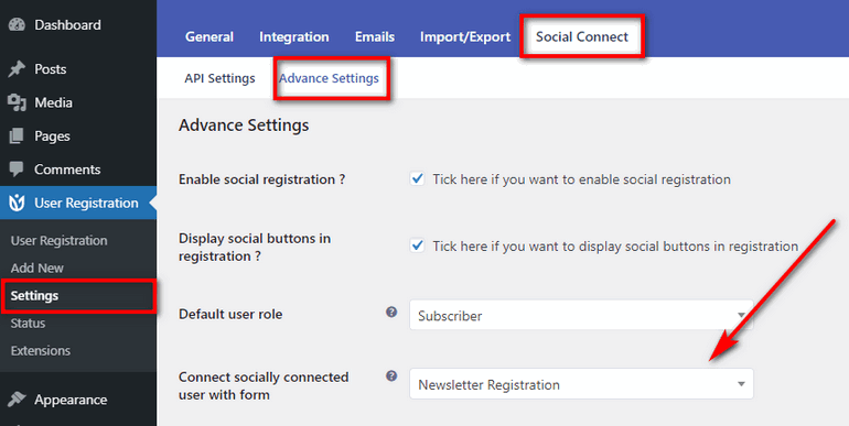 How to add Social Sign Up