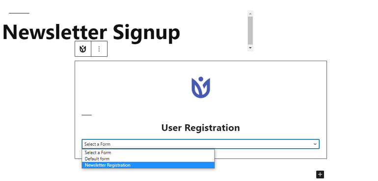 Social Sign up Page