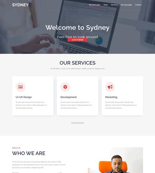 Sydney WordPress Landing Themes