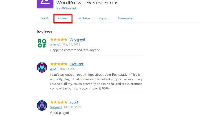 User Reviews How to Choose Best WordPress Plugins