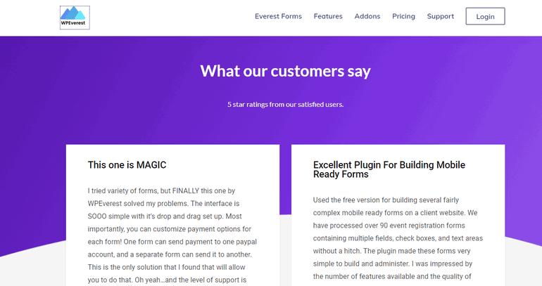 User Reviews Select a WordPress Plugin