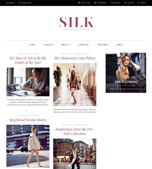 Silk Lite Theme Demo