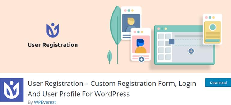 User Registration WordPress Plugin