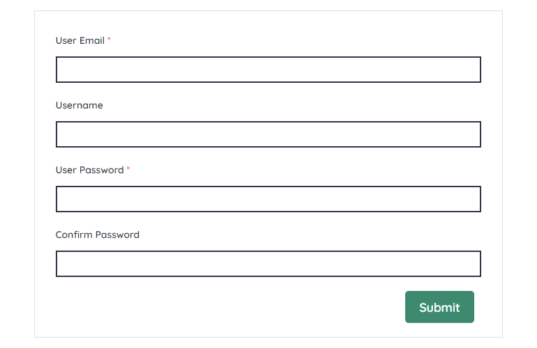 Form Preview Approve Users in WordPress