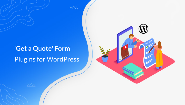 Get a Quote Form Plugins for WordPress