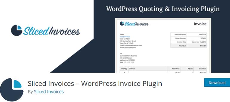 Sliced Invoices WordPress Plugin