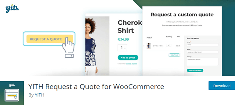 YITH Request a Quote for WooCommerce WordPress Plugin