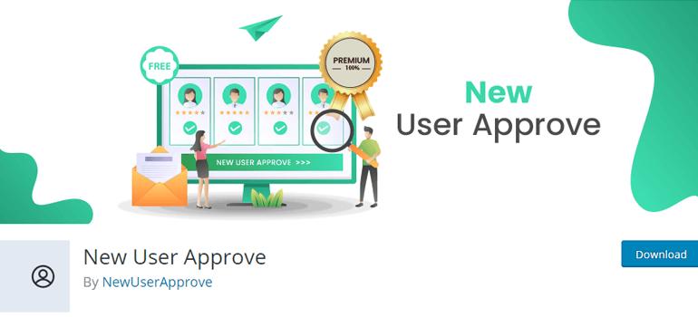 New User Approve Registration WordPress Admin Approval Plugin