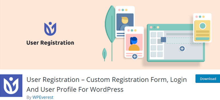 User Registration Create Custom Login and Register Form