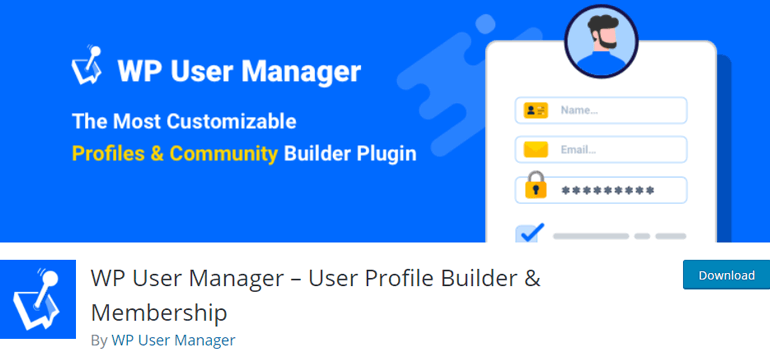 WP User Manager Approval WordPress Plugin