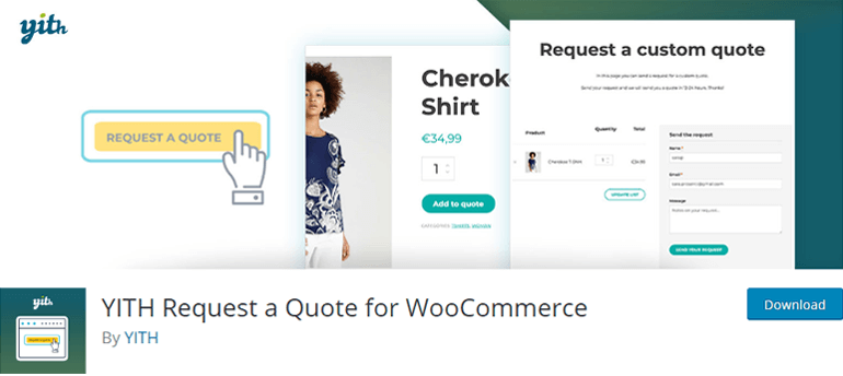 YITH Request a Quote for WooCommerce