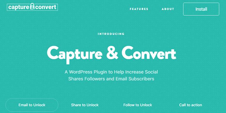 Capture & Convert Best WordPress Lead Generation Plugin