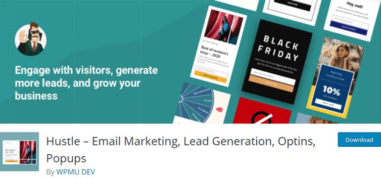 Hustle Best WordPress Lead Generation Plugin