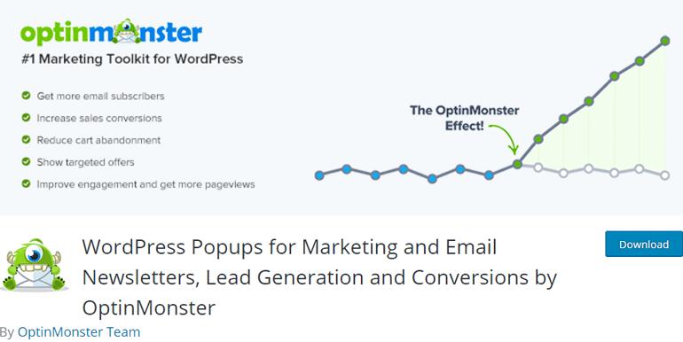 OptinMonster Best Lead Generation Plugin for WordPress