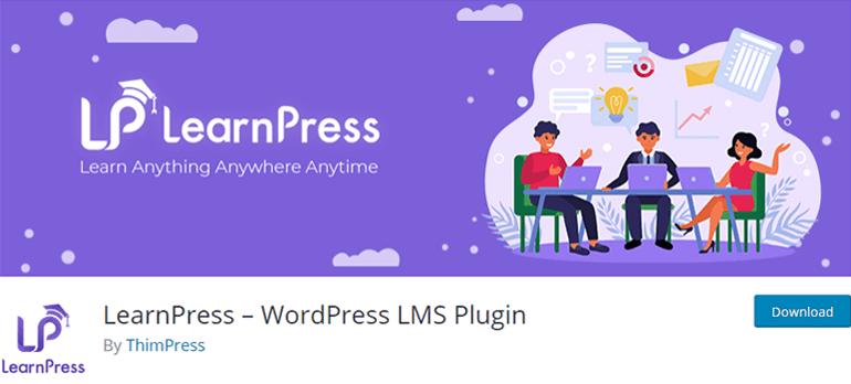 LearnPress Free LMS Plugin