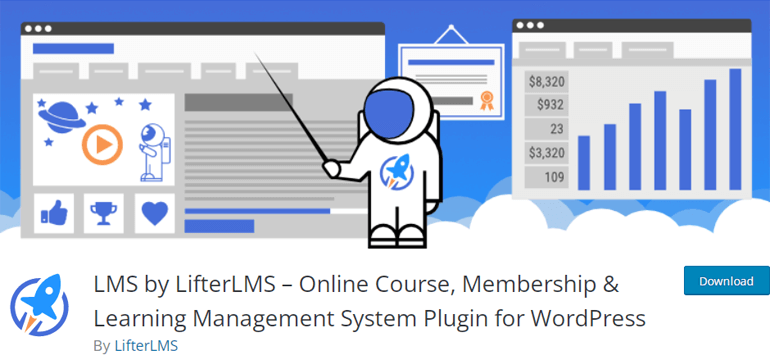 LifterLMS Online School WordPress Plugin