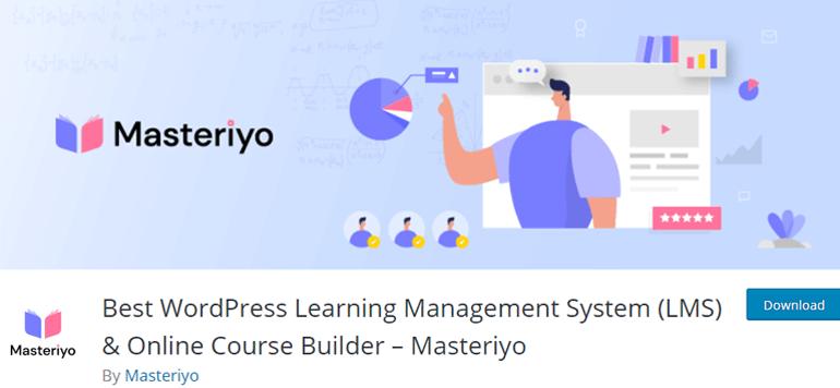 Masteriyo WordPress LMS Plugins