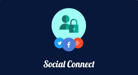 Social Connect addon